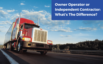 Owner Operator or Independent Contractor: What's The Difference?